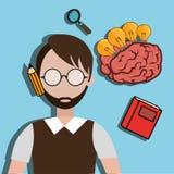 Human brain creative ideas Royalty Free Stock Photo