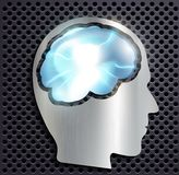 The human brain Royalty Free Stock Photo