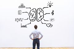 Free Human Brain Right Left Concept Royalty Free Stock Photos - 114394378