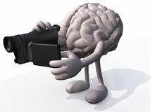 Human brain video maker Stock Photography