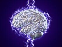 Human brainstorm concept Stock Images