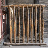 Human Cage in Pingyao Prison Stock Photo