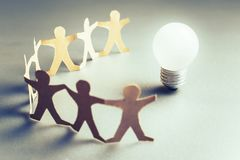Teamwork for Success Stock Photography