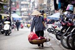 Human characteristics of Vietnam Stock Image