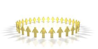 Human Circle Royalty Free Stock Photo