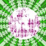 Human circle abstract background. Royalty Free Stock Photos