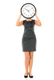 Human clock Stock Photography