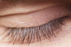 Human close eye Stock Photos