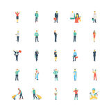 Human Color Vector Icons 7 Royalty Free Stock Photo