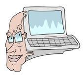 Human computer Stock Images