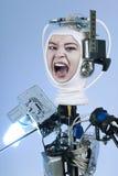 Human Cyborg Robot Royalty Free Stock Images