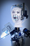 Human Cyborg Robot Royalty Free Stock Photography