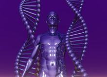 Human dna Royalty Free Stock Photos