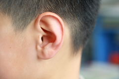Human ear Royalty Free Stock Photography
