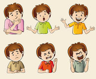 Human emotions stock images