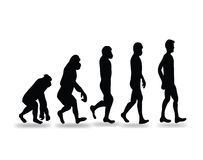 Human evolution icon Stock Image