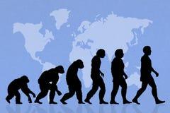Human evolution Stock Photos