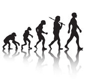 Human evolution Stock Images