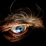 Human eye. Close up of human eye Royalty Free Stock Images