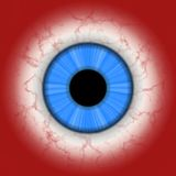 Human eye closeup Royalty Free Stock Image