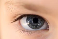 Human eye closeup Stock Images
