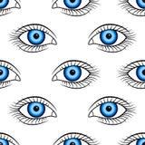 Human eye pattern Stock Photo