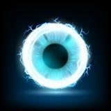 Human eye. Stock illustration. Stock Photo