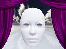 Human face mask Royalty Free Stock Images