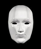 Human face mask of white color Royalty Free Stock Photography