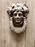 Human face old knockers Stock Photo