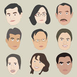 Human Faces Royalty Free Stock Images