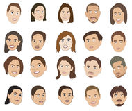 Human Faces Stock Photo