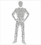 Human figure Royalty Free Stock Photos