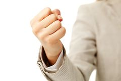 Human fist Royalty Free Stock Image