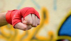 Human fist Royalty Free Stock Image