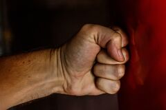 Human Fist Royalty Free Stock Photo
