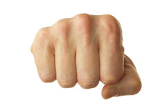 Human fist Stock Image