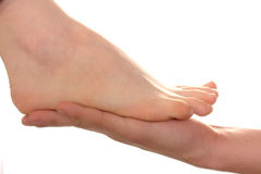 Human foot Stock Image