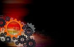 Human gear design Stock Image