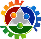 Human gears logo