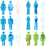 Human Gender icons Stock Photo