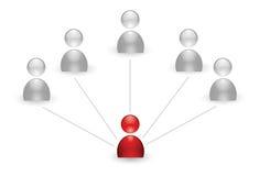 Human group icon Stock Photos