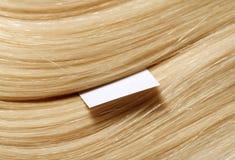 Human hair stock image