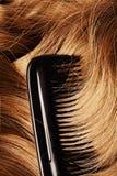 Human hair Stock Photo