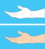 Human hand gesture Stock Photos