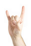 Human hand gesture Royalty Free Stock Image