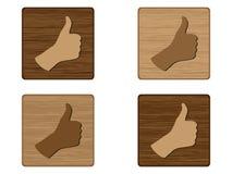 Human hand giving ok Stock Photography