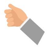 Human hand hold something. Icon  illustration graphic design Stock Photography