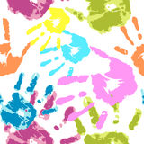 Human hand on a white background vector royalty free illustration