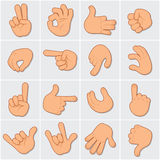 Human Hands Clip Art 1 Royalty Free Stock Image